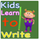 Kids Learn to Write : Numbers, Letters and Chinese Words