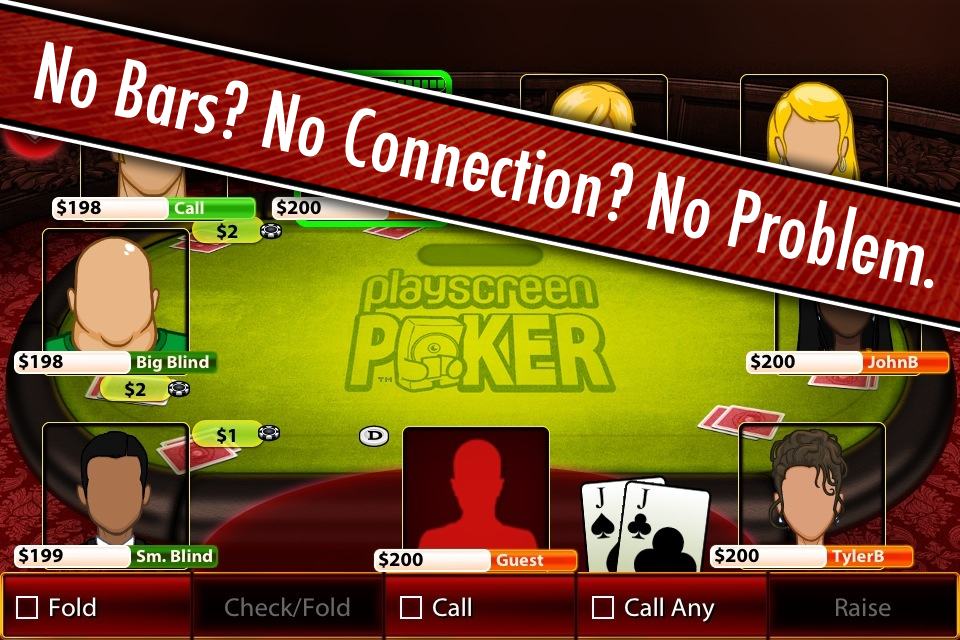 PlayScreen Poker