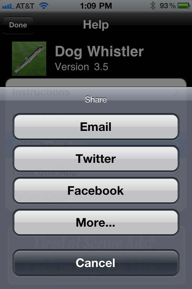 Dog Whistler - Your Free Dog Whistle