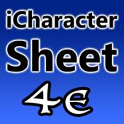 iCharacter Sheet 4e