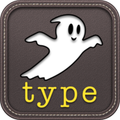 Ghost Type - a typing tutor to master your iPad typing skills icon