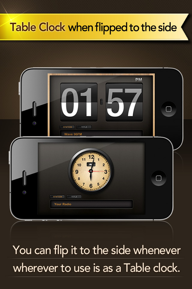 Radio Alarm Clock Free-MP3/Radio/Nature Sound Alarm + Sleep Timer Screenshot