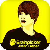 BrainPicker : Justin Bieber icon