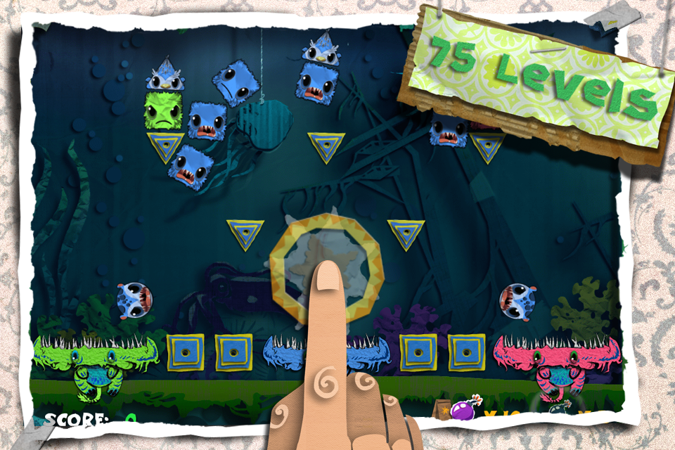 Free Paper Munchers iPhone Game