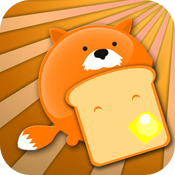Cute Fat Fox: Toast Rescue icon