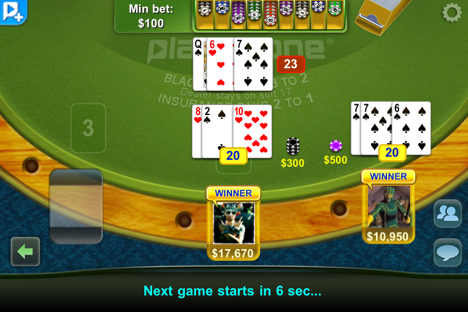 Play blackjack online ipad