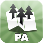 Pennsylvania State Parks — maps for all PA state parks — by Maplets icon
