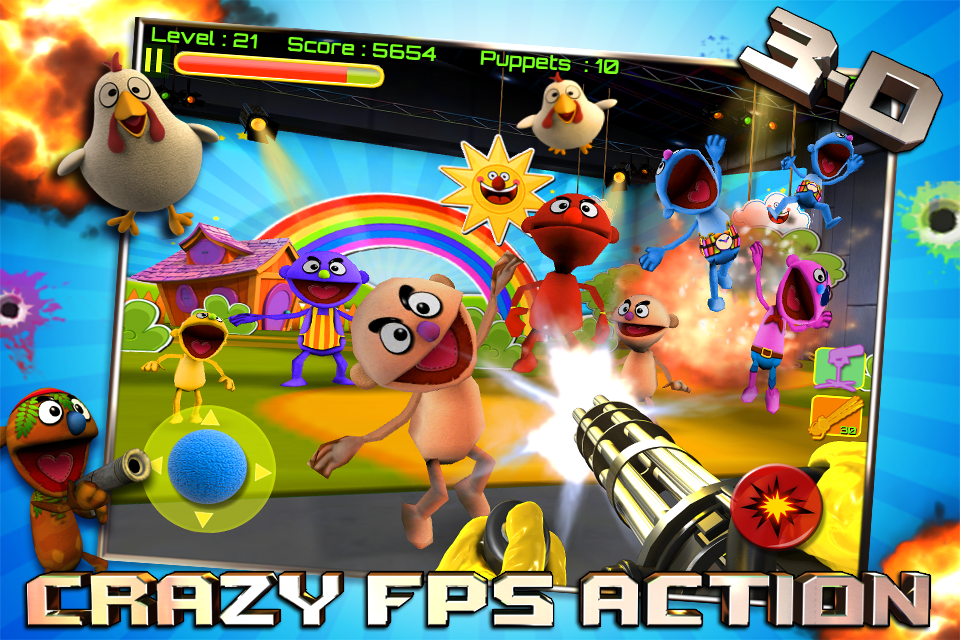 Free Puppet War HD (iPad) iPhone Game