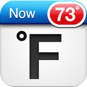Fahrenheit Free - Weather and Temperature on your Home Screen icon