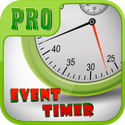 Event Timer Pro for iPhone 5/iPhone 4/iPad icon