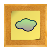 CorkBoard in the Cloud icon