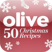 50 Christmas recipes from olive Magazine icon