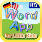 ABC 123 Word App HD - English German edition icon