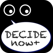 Decide it now! icon