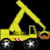 Abraham Stolk - the little crane that could artwork