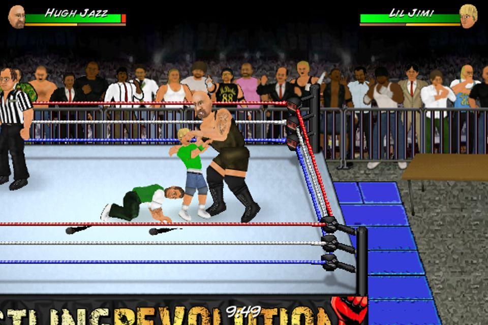 Wrestling Revolution D Exhibition : Wrestling revolution pro v updated jun sinful