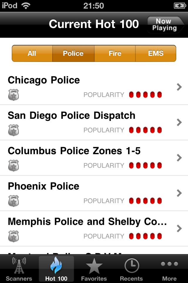 Scanner911 Police Radio Pro screenshot 3