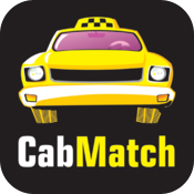 Cab Match CabMatch ride share a taxi or cab icon