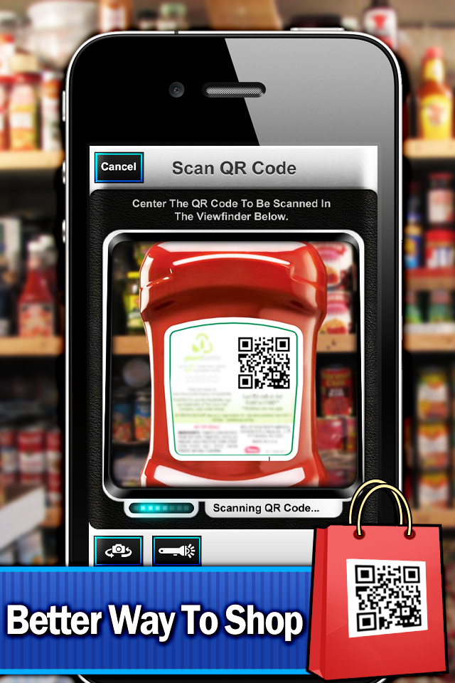 Best QR Code Scanner – Scan + Create Your Own QR Codes Screenshot