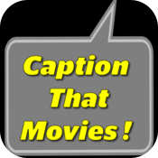 Caption That Movies! icon