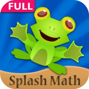 Splash Math - 2nd grade worksheets of Numbers, Addition, Subtraction, Time & 9 other chapters icon