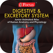 Digestive and Excretory Systems - Jr. Animated Atlas Series icon