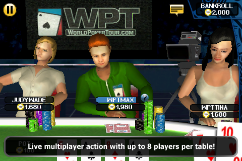 World Poker Tour Hold 'Em Showdown screenshot 4