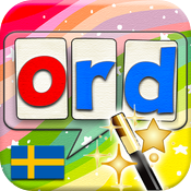 Swedish Word Wizard - Talking Movable Alphabet + Spelling Tests icon