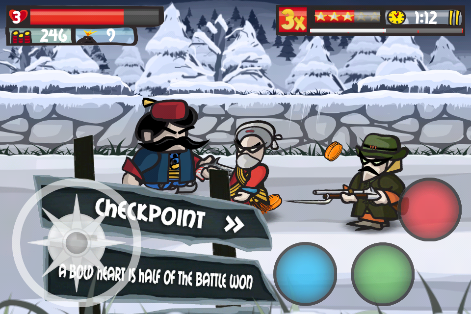 Free Rebel Hero iPhone Game