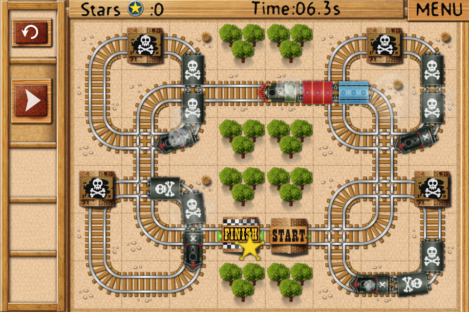 Rail Maze: Railroad Labyrinths in the Old West
