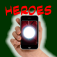 Super Heroes Powers on Hand for iPhone