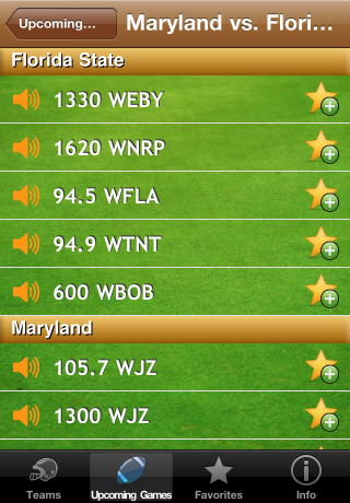College Football Radio screenshot 3