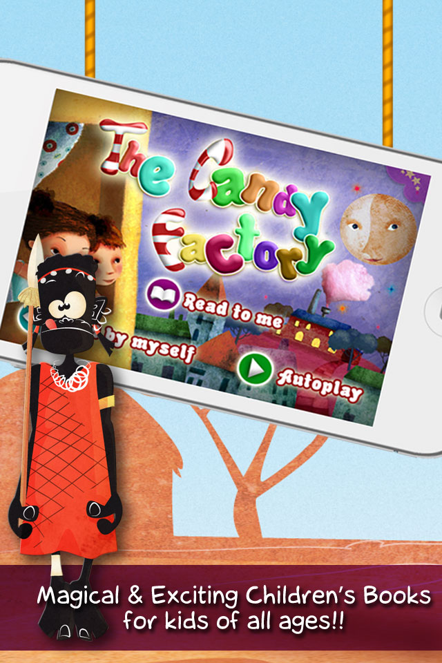 TouchyBooks Kid's Interactive Books Screenshot