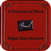 A Princess of Mars-Edgar Burrow icon