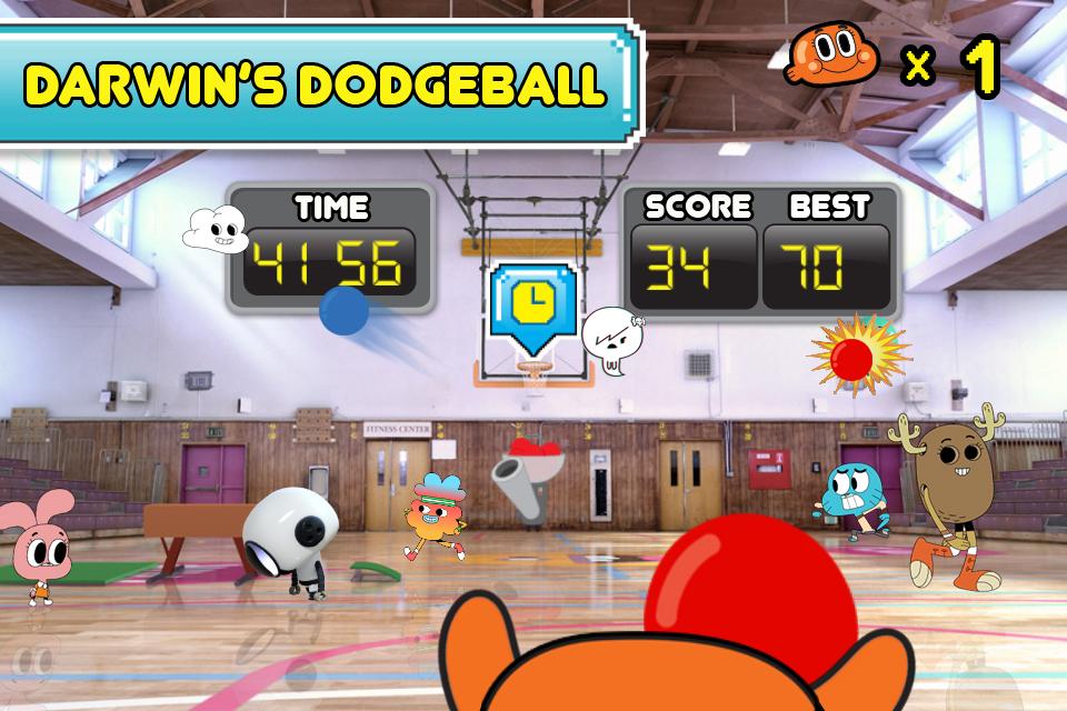 The Amazing World of Gumball: Mini Games screenshot 3