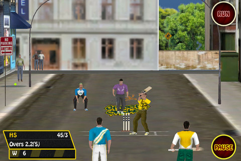 Screenshot Street Cricket Free