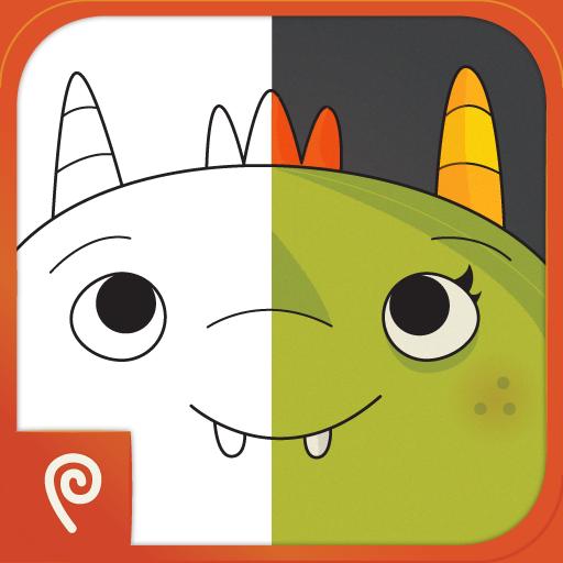 mza 6775930326577945698 Monster Coloring Book, una genial app de colorear para iPad