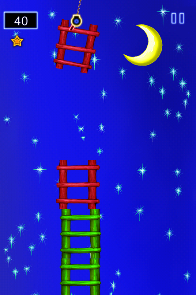 Tap Ladder Insanity to the Moon - a Fun, Family Game for Adults and Kids