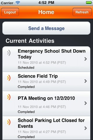 Blackboard Connect for iPhone