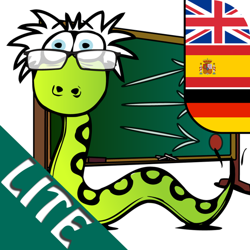 Snakestein's Reading Game LITE (English / Spanish / German) - Learning with Fun for Children