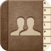 ABContacts; Contacts Manager, Group Text & Email, Dialer, Favorites icon
