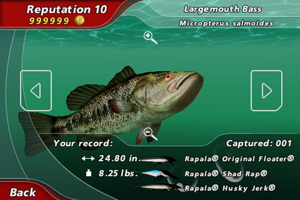 rapala pro fishing русская версия