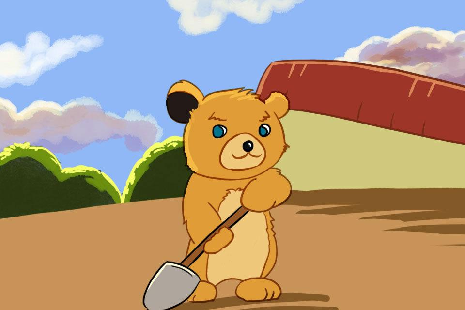 【tsbaby-小熊种树】