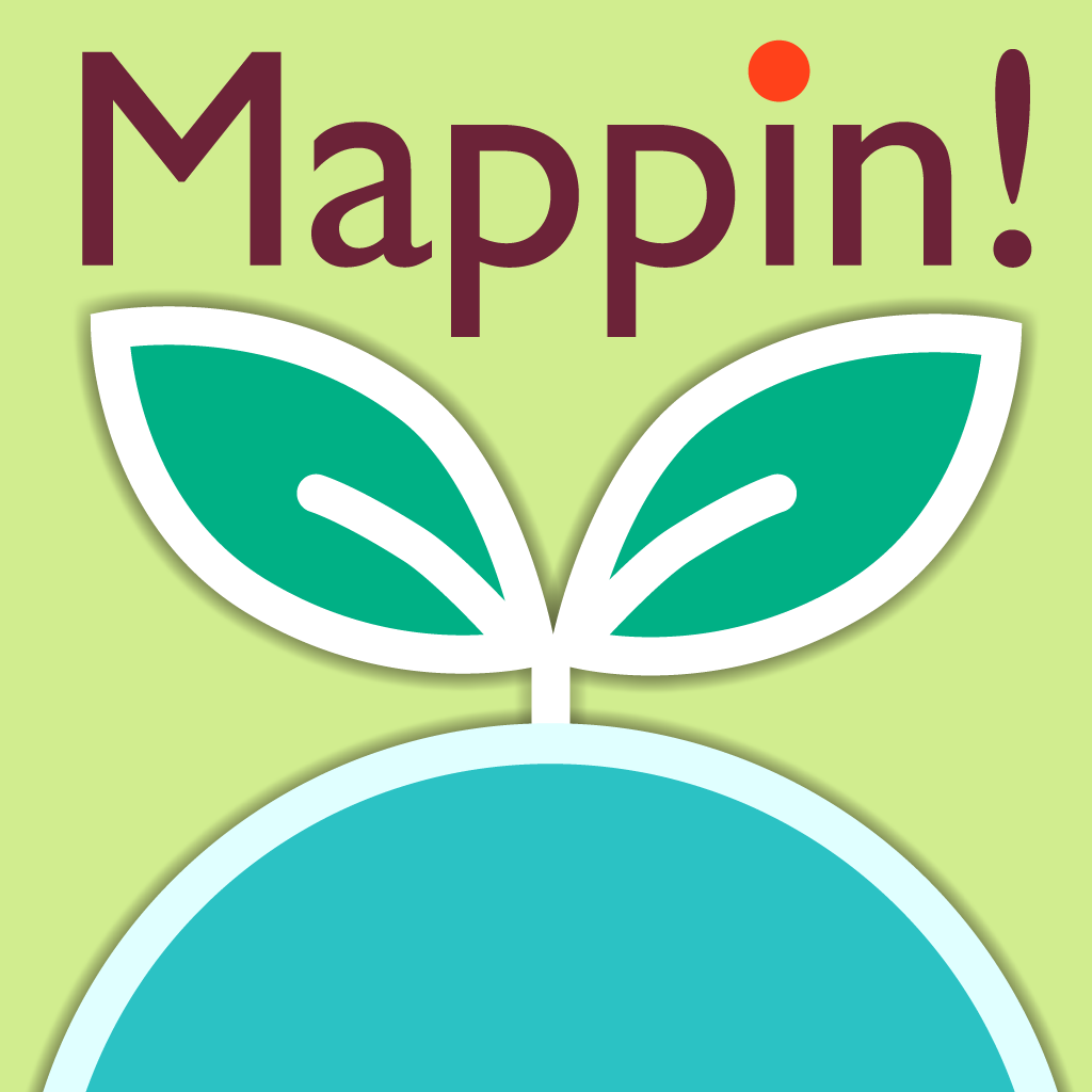 Mappin!- お店/営業先/行きたい場所...。地図上にピンを立てて、自分のための場所リストを作ろう!