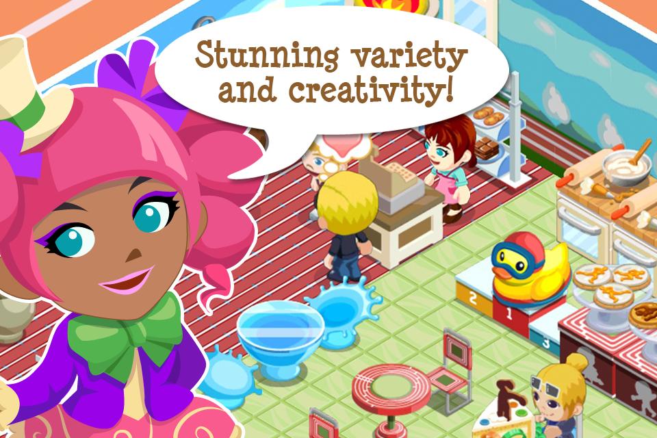 Bakery Story: World Games screenshot 2