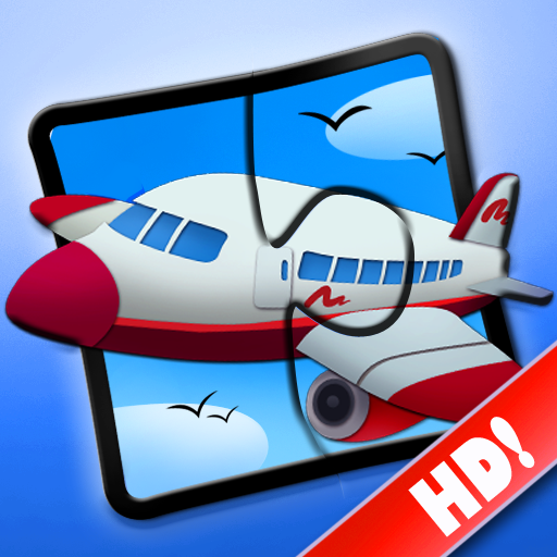 Transport Jigsaw Puzzles 123 for iPad - Fun Learning Game for Kids