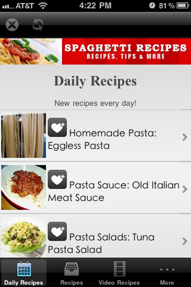 Spaghetti Recipes!