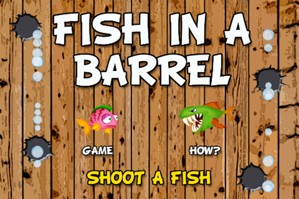 Fish in a barrel dating site