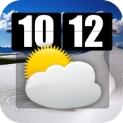 Awesome Weather Reporter Clock HD icon