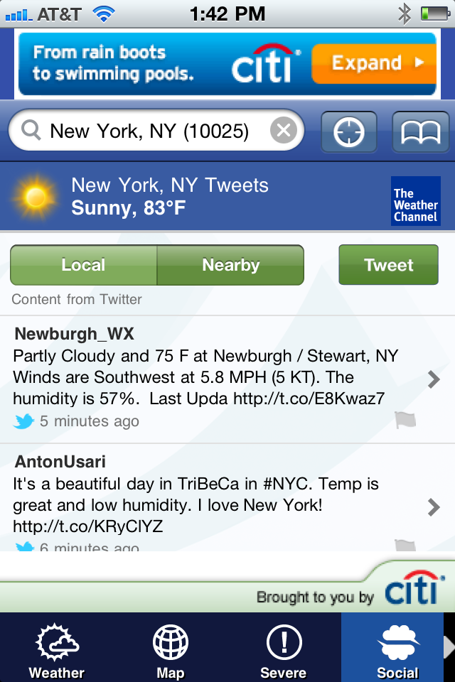 The Weather Channel screenshot 4